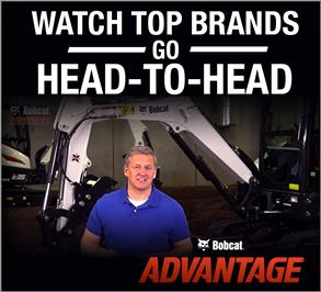 Bobcat Advantage video series compares top compact