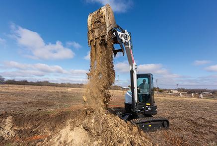 Revolutionary R2-Series Compact Excavators