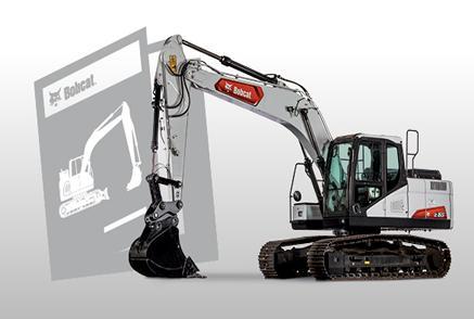 Bobcat Excavator Brochure Promotional Image