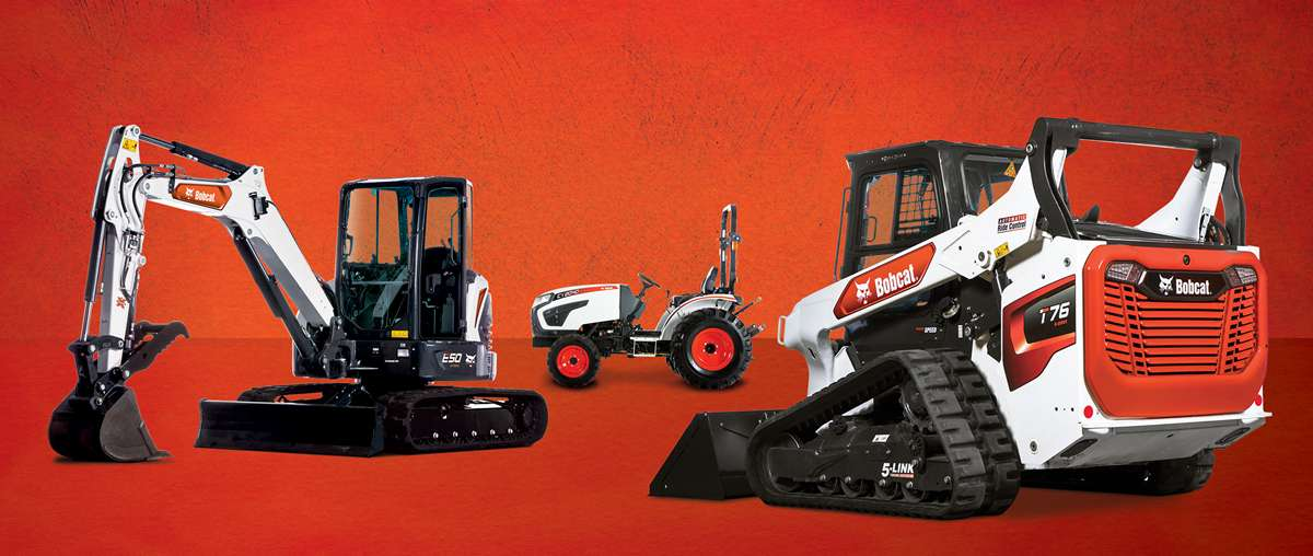 Bobcat Compact Excavator, Compact Tractor And Compact Track Loader Research Image