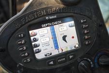 Bobcat depth check system for Bobcat compact (mini) excavators.