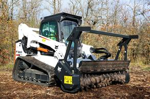 Bobcat Forestry Cutter Attachment