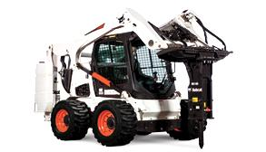 Bobcat attachment on S770 skid steer.