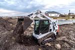 Bobcat T595 compact track loader