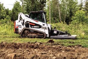 Bobcat compact track loader