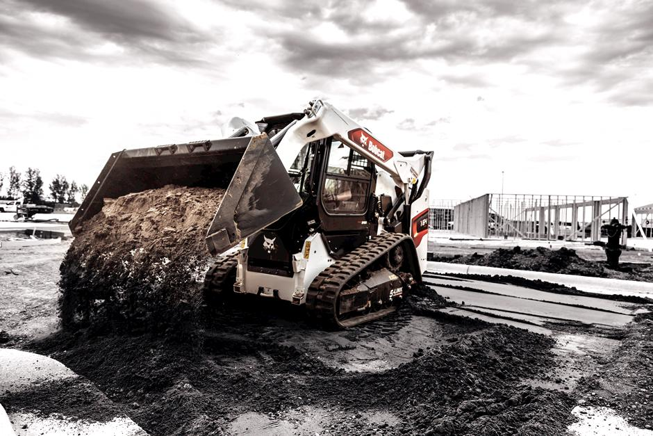 Bobcat T64 Compact Track Loader Covered By Extended Warranty