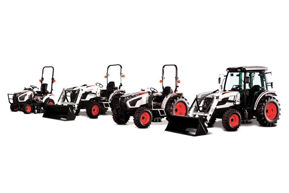 Bobcat Compact Tractor Lineup