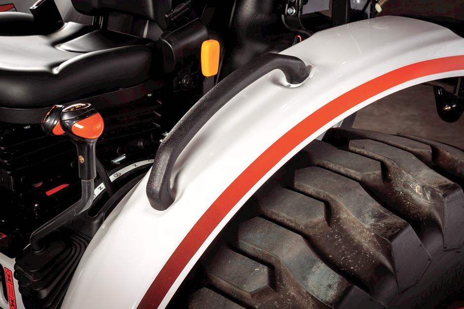 Fender Grips And Supports On Bobcat Compact Tractor