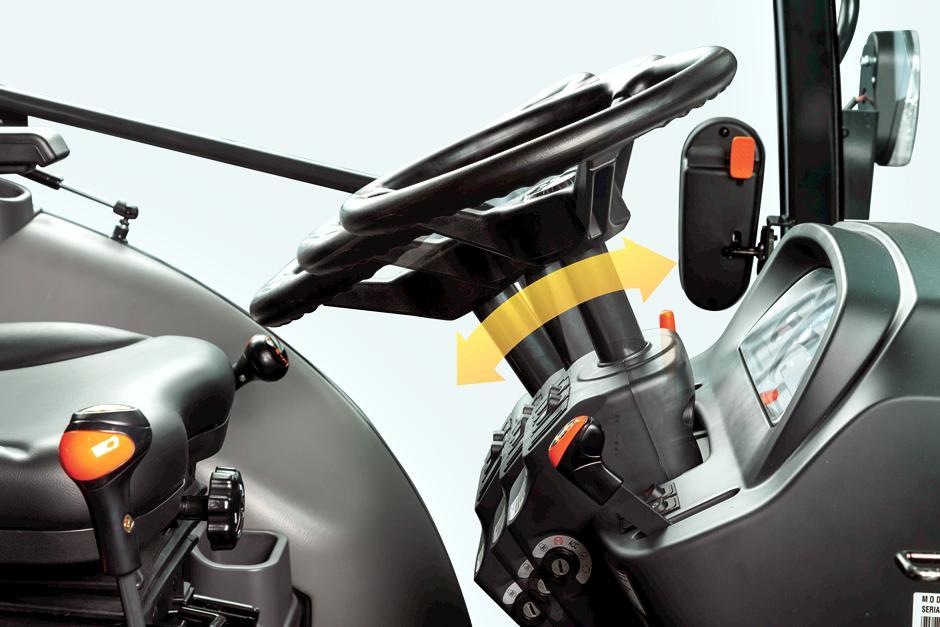 Tilt Steering Wheel On Bobcat Compact Tractors