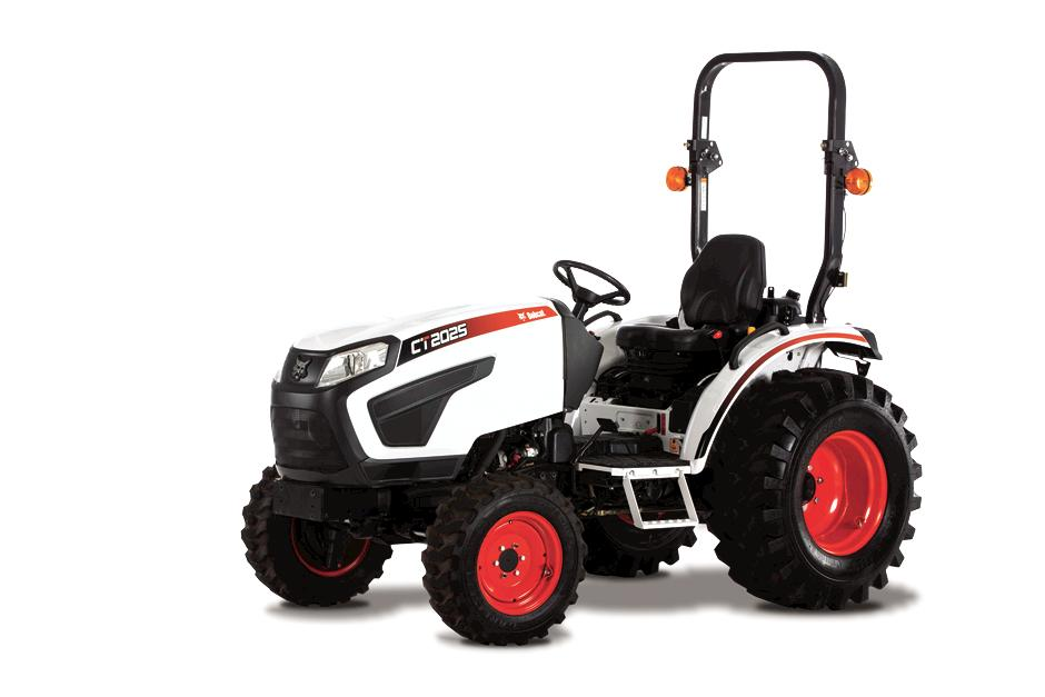 Studio Shot Of Bobcat CT2025 Compact Tractor Model.