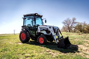 Bobcat CT2535 Compact Tractor With Front-End Loader Attachment