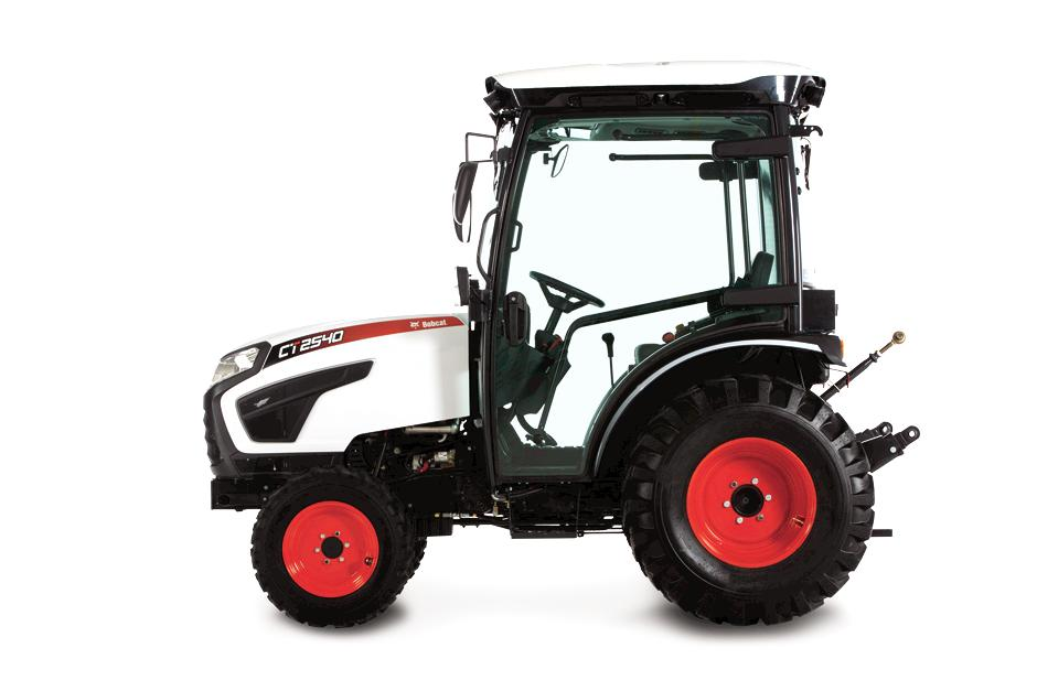 Bobcat CT2540 Compact Tractor Model with Front End Loader