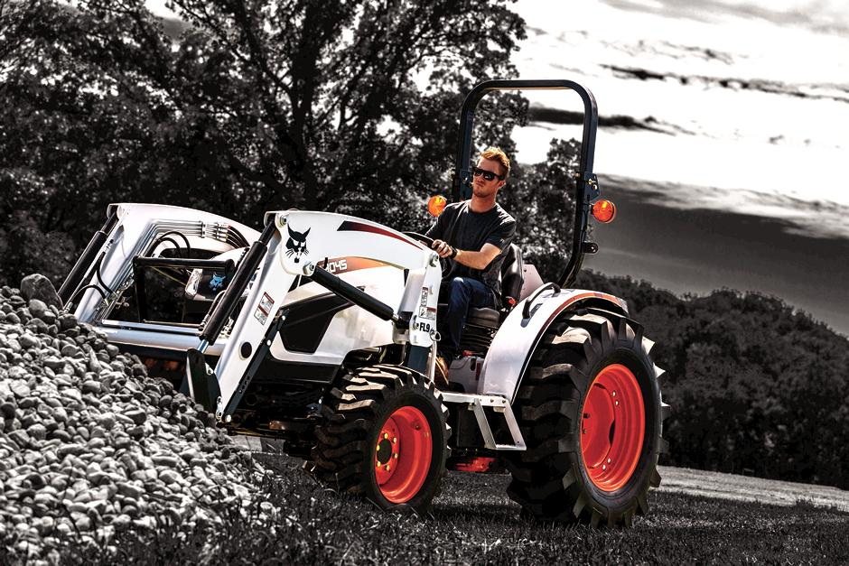Acreage Owner Using Bobcat Compact Tractor Covered By Extended Warranty