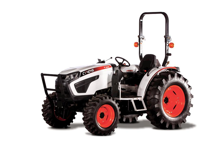 Studio Shot Of Bobcat CT4045 Compact Tractor