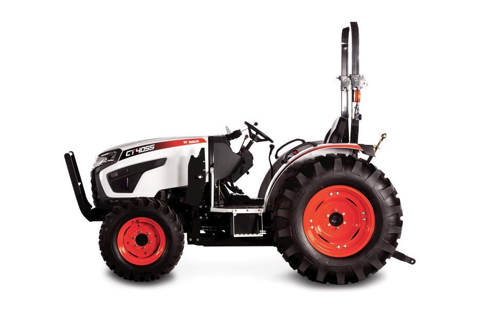 Bobcat CT4055 Compact Tractor On White Background