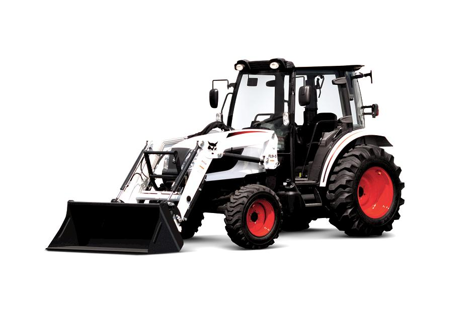 Studio Photo of CT5555 Compact Tractor On White Background