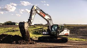 E165 Large Excavator Bobcat Company