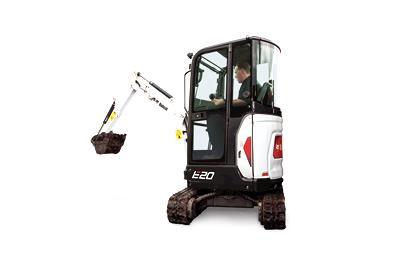 Bobcat E20 Compact Excavator