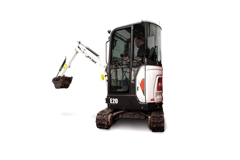 2018, Bobcat, E20, Excavators