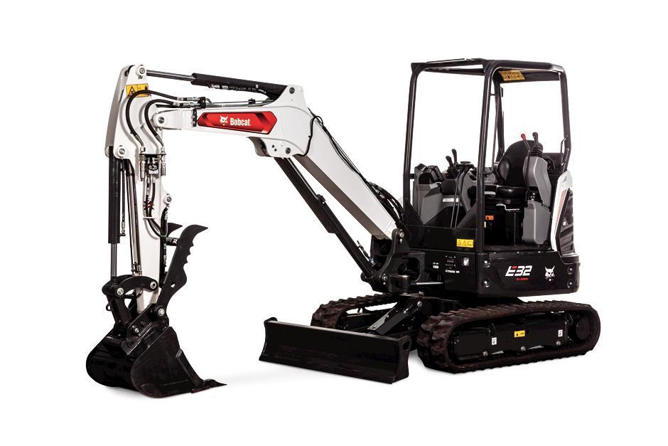 Bobcat E35 25HP Compact Excavator