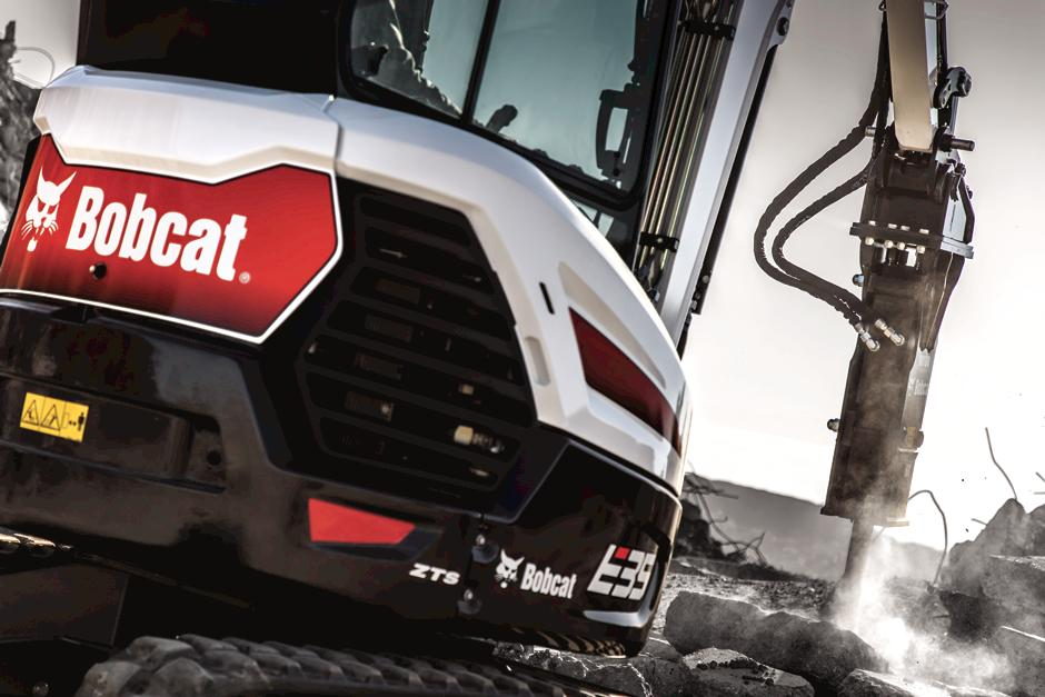 Bobcat Mini Excavator With Protection Plus Extended Warranty Coverage