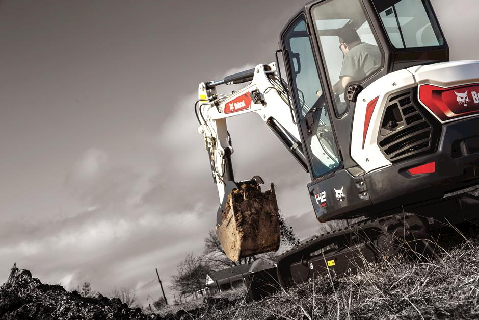 R2-Series Compact Excavator To Be Showcased In Bobcat Booth At Trade Shows