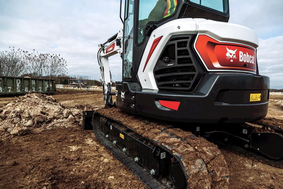Undercarriage Of R2-Series Compact Excavator