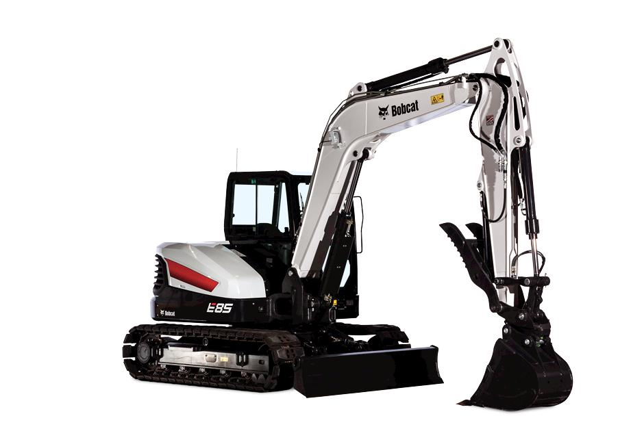 Bobcat E85 R-Series Compact Excavator