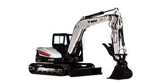 New, 2020, Bobcat, E85, Excavators
