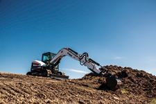 Bobcat E85 excavator.