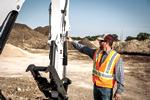 R2-Series Compact Excavator Auxiliary Hydraulics