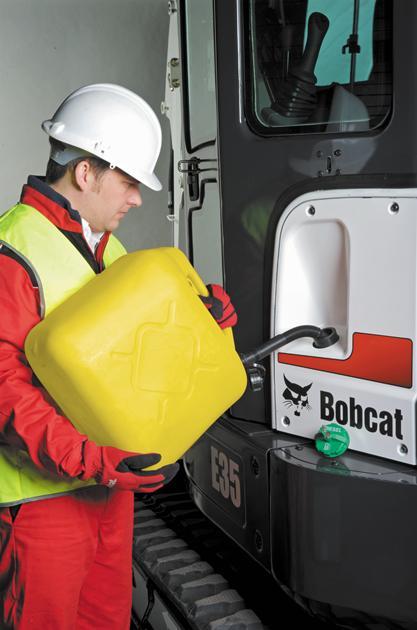 Bobcat Fuel Management