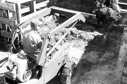 M60 Cy keller in livestock yard