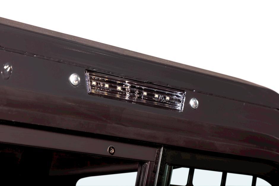 Side Lighting Kit On Compact Track Loader
