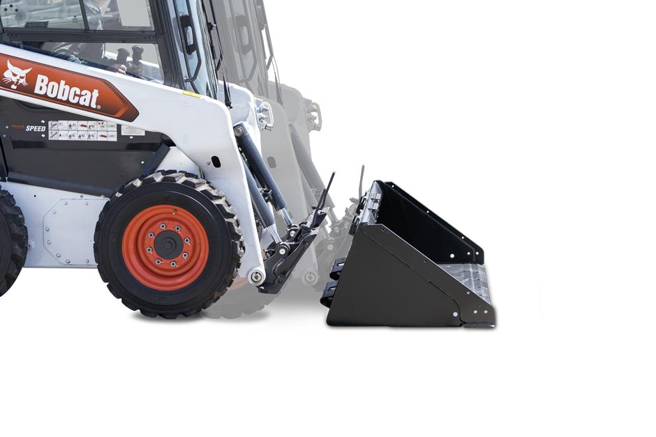 Bob-Tach Attachment Mounting System On Bobcat Skid-Steer Loader