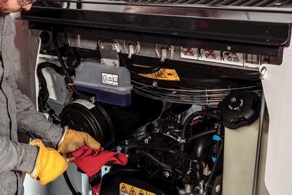 Newly redesigned Bobcat engine