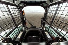 Bobcat compact track loader and skid-steer loader cab.