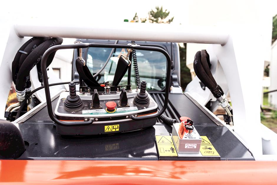Bobcat Remote Control Transmitter For Compact Loaders