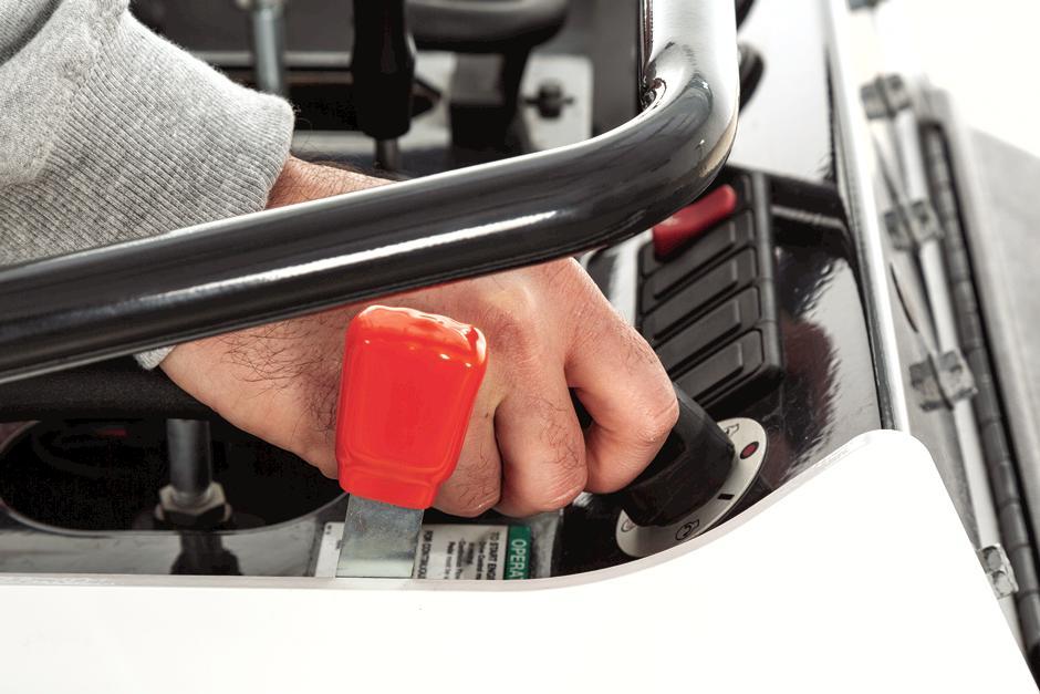 Neutral Start Interlock Controls Inside Bobcat MT100 Mini Track Loader