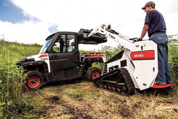 New Equipment|Bobcat MT85 Mini Track Loader