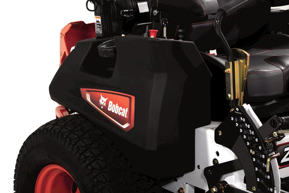 Bobcat ZT7000 Zero-Turn Mower Dual Fuel Tanks