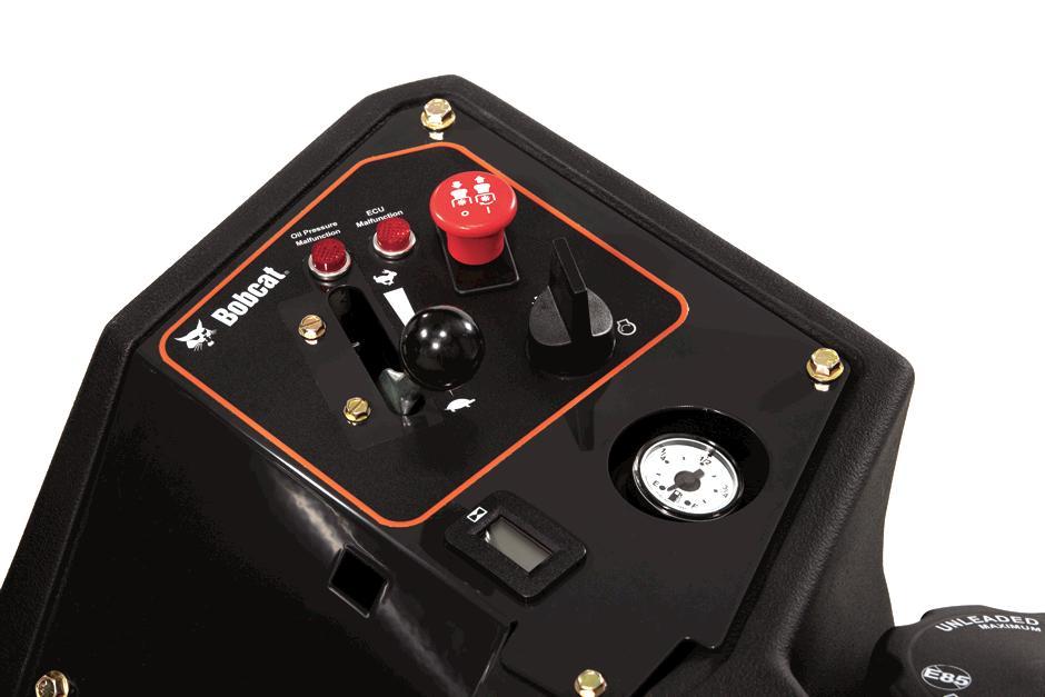 Bobcat Zero-Turn Mower Controls