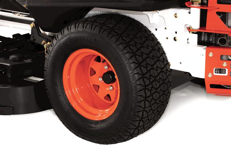Bobcat Zero-Turn Lawn Mower Zero-T Drive Tires