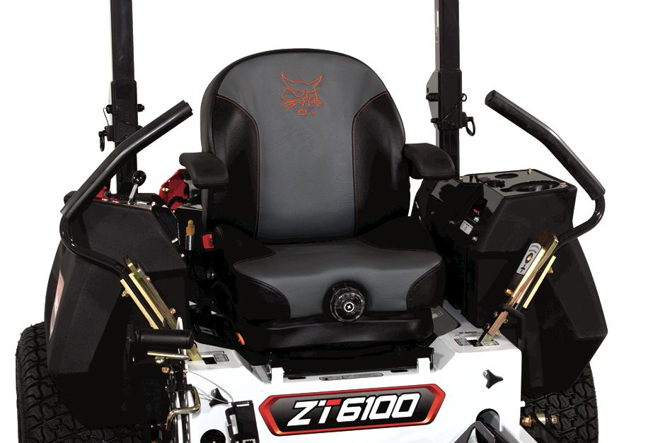 Bobcat ZT6000 Zero-Turn Mower Seat And Command Center