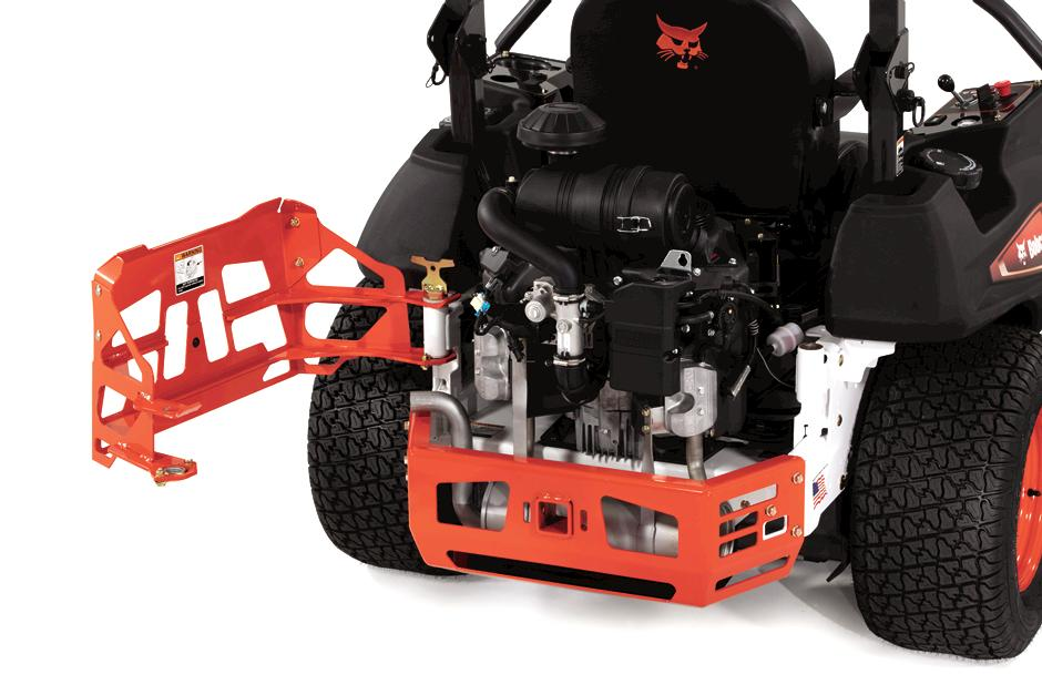 Bobcat Zero-Turn Mower Rotating Bumper