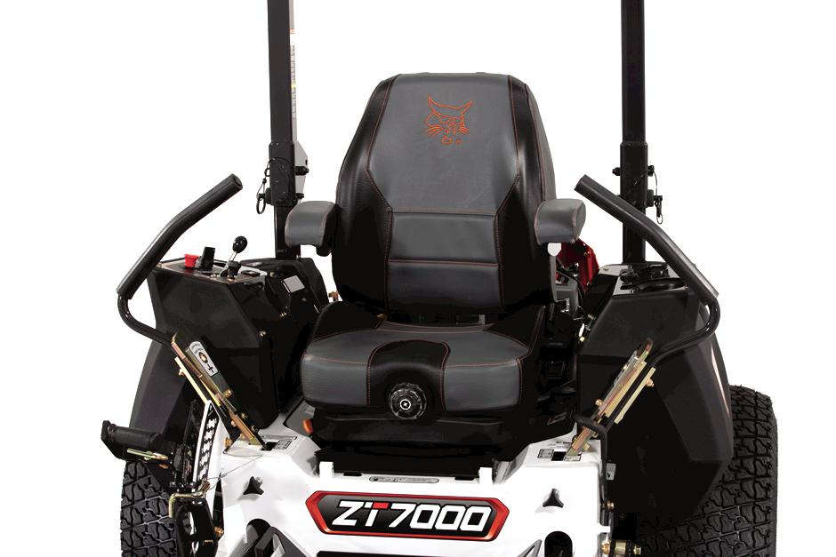 Bobcat Zero-Turn Lawn Mower Comfort Command Center Front View