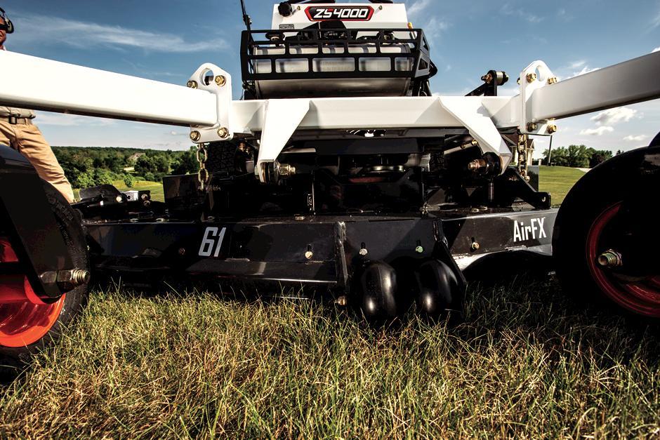 Bobcat Zero-Turn Mower AirFX Cutting Deck