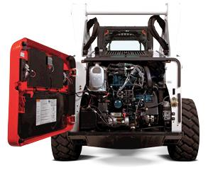 Tier 4 Skid Steer Loader Engine