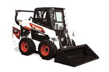 Studio Image Of R-Series S66 Skid-Steer Loader With Bucket Attachment
