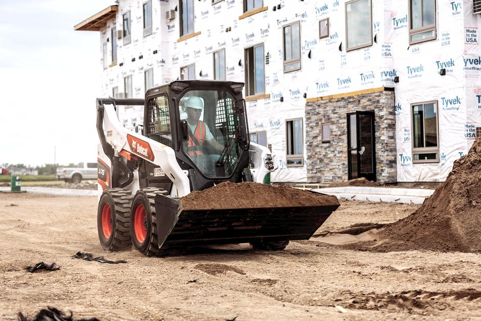 Operating Using Skid-Steer Loader With Automatic Ride Control